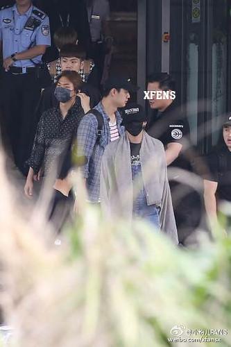 BIGBANG Arrival Nanning (5)