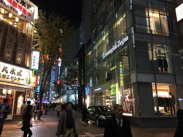 新宿3丁目夜景