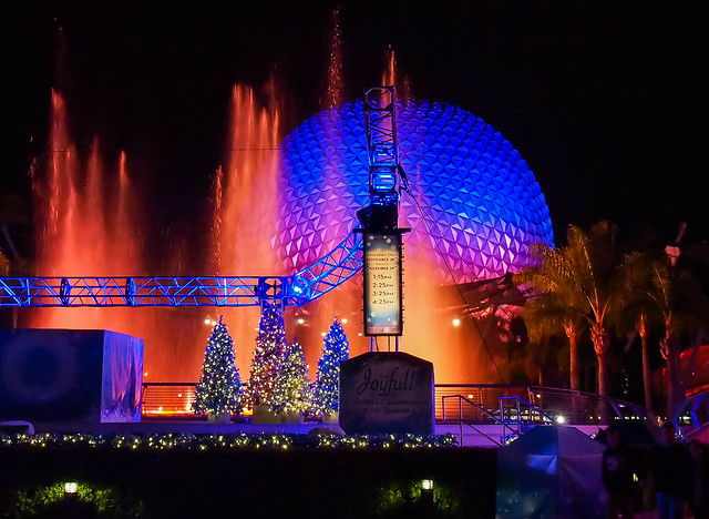 Holidays at Epcot