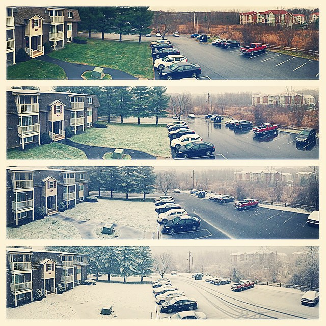 Winter Storm before Thanksgiving 2014!