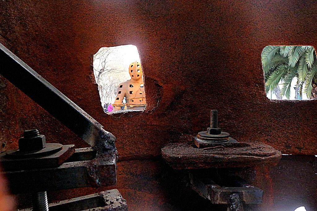 interior de 'Guerreros' por Xavier Mascaró