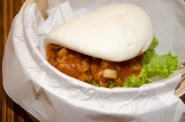 Crispy Spicy Pork Bun