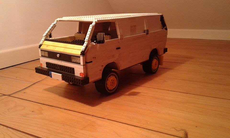 Moc Volkswagen T3 Kasten Syncro Lego Technic And Model