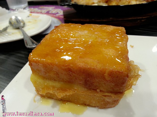 Kungfu French Toast (with peanut butter and honey)- RM 5.90