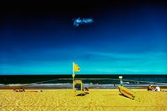 Queensland Beach With A Rebellious Cloud