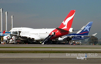 Qantas y LAN (RD)