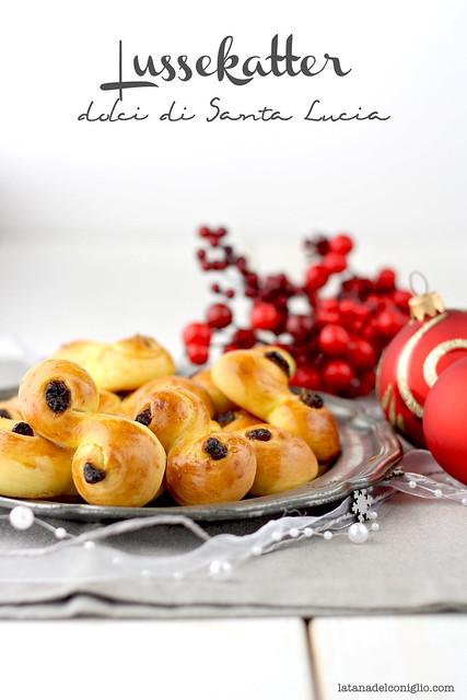 lussekatter, dolci di santa lucia allo zafferano