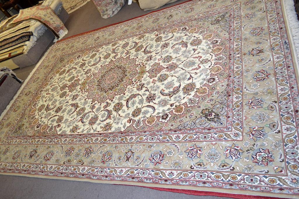 Isfahan Fine 7x10 persian Area Rug Earth Tone Color (2)