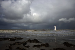 Stormy Skies Beyond Perch Rock Lighthouse