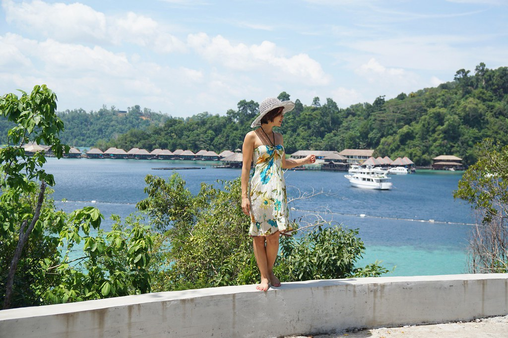 Rebecca Saw - my stay at gaya island resort - sabah