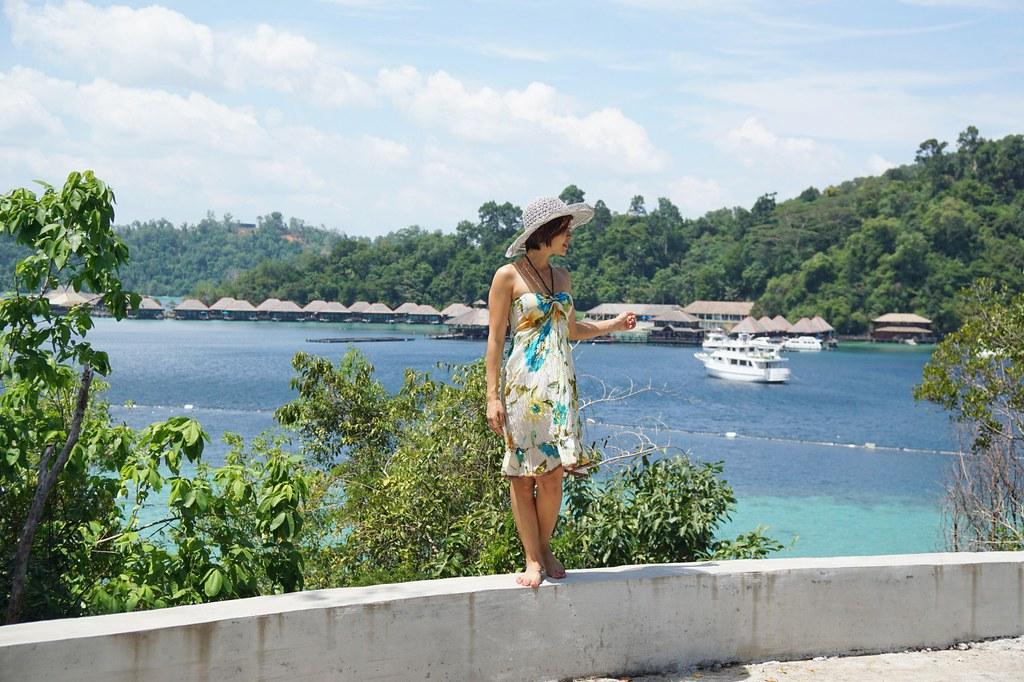 Rebecca Saw - my stay at gaya island resort - sabah