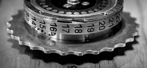 22nd Februrary 2015 - Enigma Machine Code wheel
