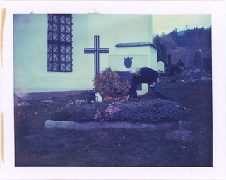 At Her Husband's Grave 2014