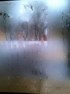 More condensation
