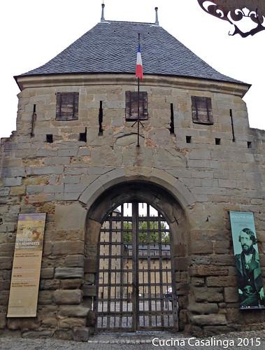 Carcassonne Burg Tor