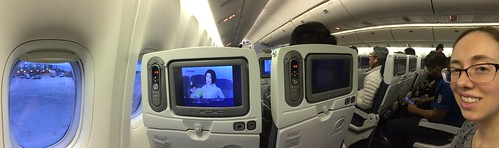 Seats 38A and 38C, ANA 777-300ER economy class