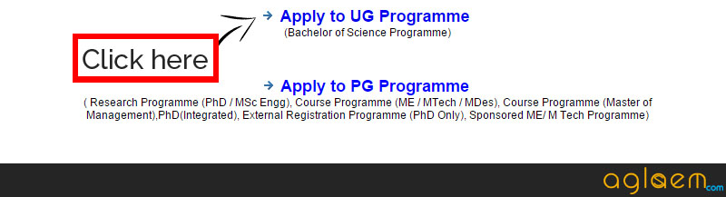 IISc Application Form 2015 for UG