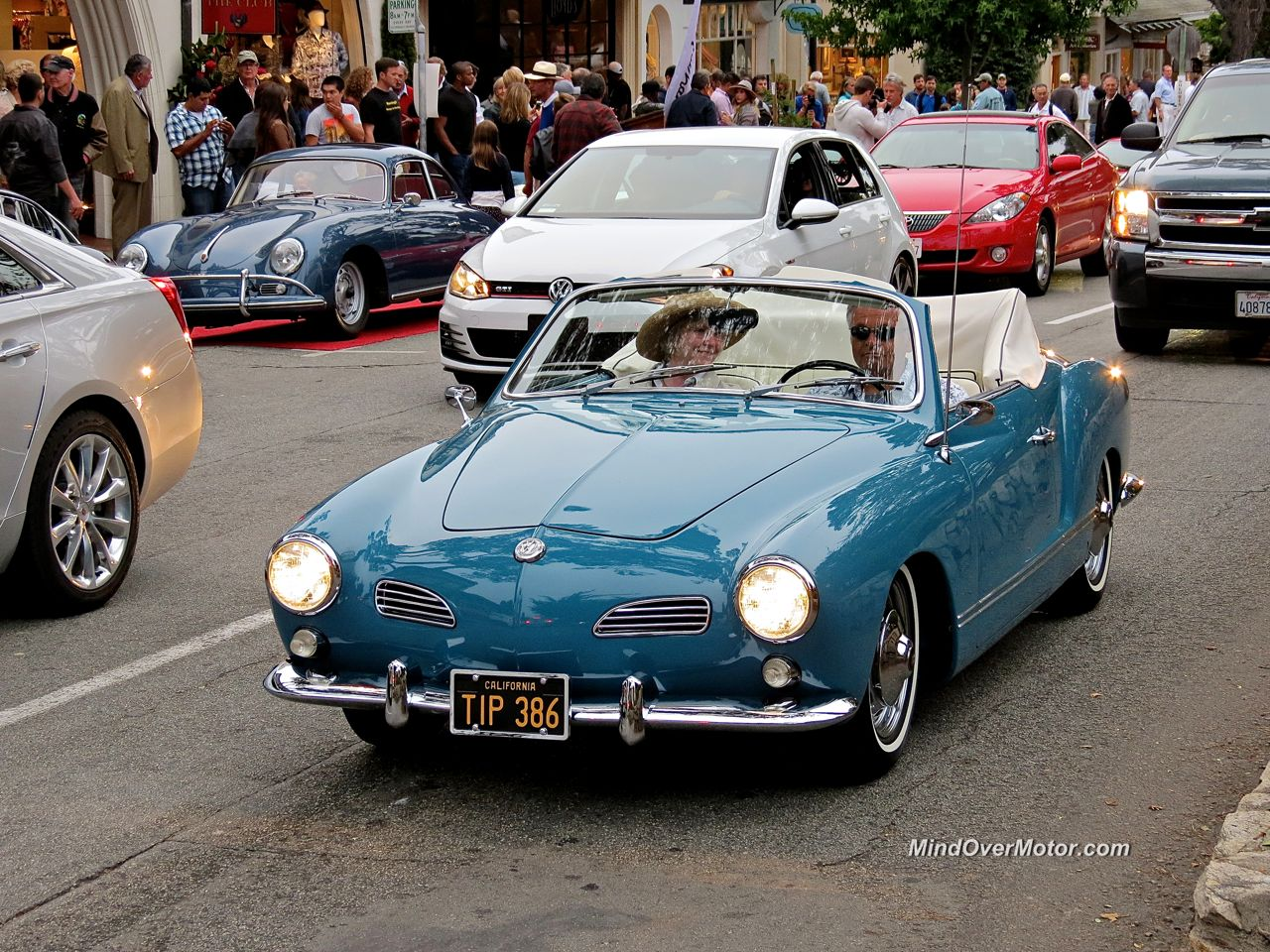 VW Karmann Ghia Convertible Front