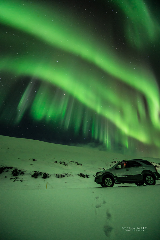 Northern lights - Kia Sorento