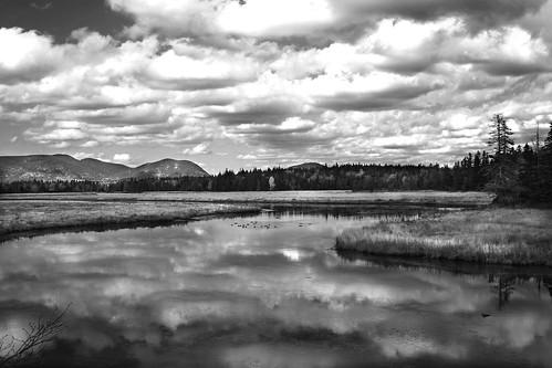 Cloud Effect - B&W