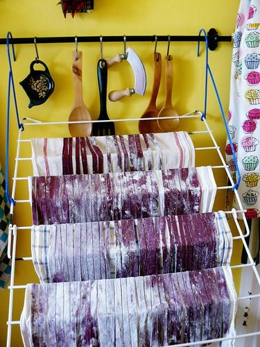 Purple pasta