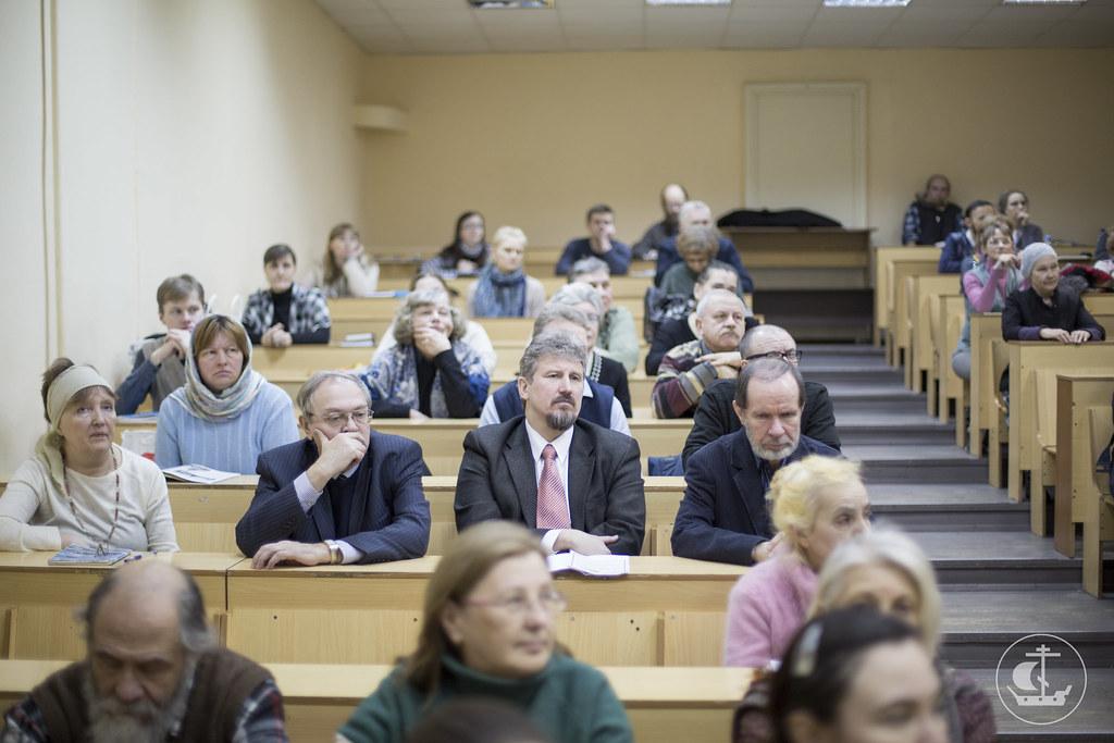 13 марта 2015, Ректор СПбПДА посетил Народный Православный Университет / 13 March 2015, The rector of Saint-Petersburg orthodox theological academy visited the Folk Orthodox University