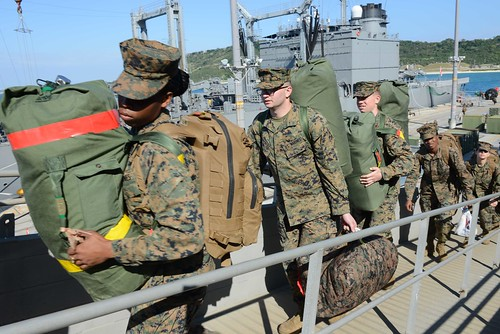 Bonhomme Richard ARG Embarks 31st Marine Expeditionary Unit