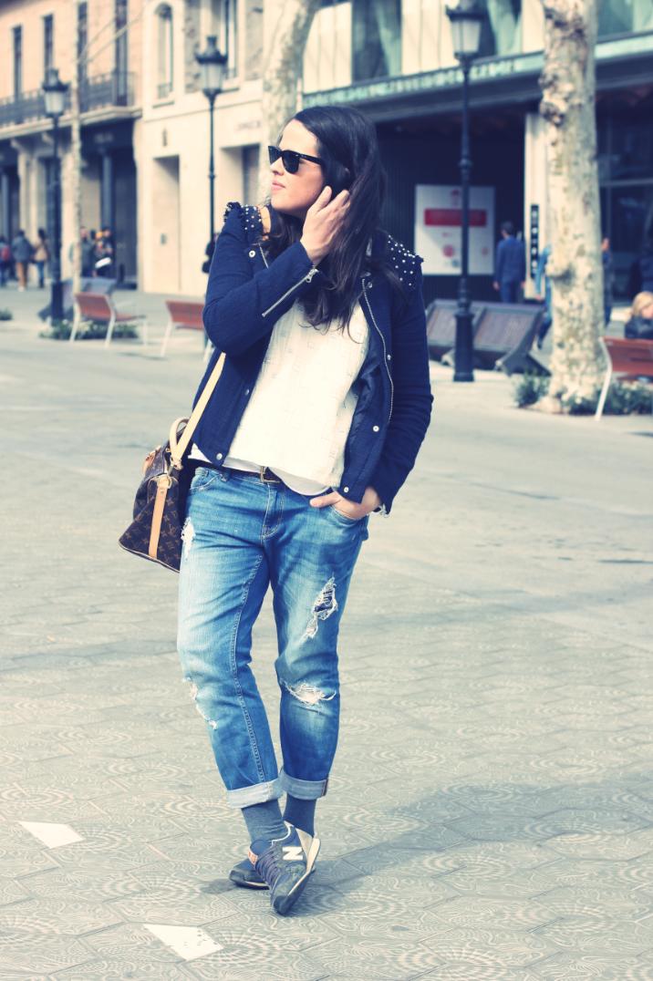 Look boyfriends jeans