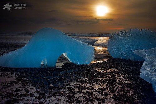 ice beach nature water sunrise landscape iceland waves glacier iceberg allrightsreserved jokulsarlon blueice vatnajökull glacialice vatnajökullglacier magiccloth coloradocaptures mikeberenson copyright2014bymikeberenson