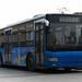 An experimental hybrid bus.