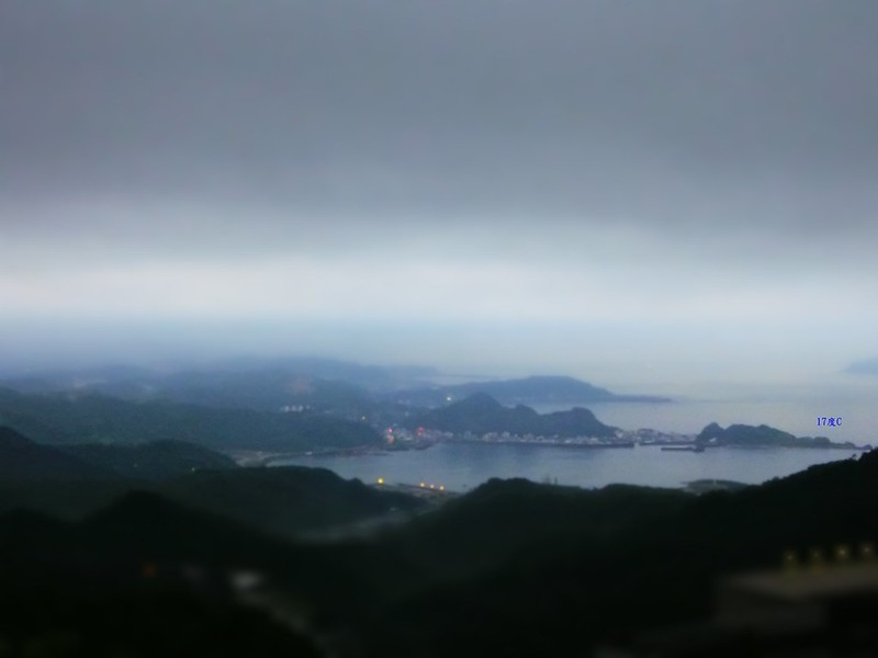 17度C,只接待不留宿。與香港沙發客共遊煙雨濛龍九份 (49)