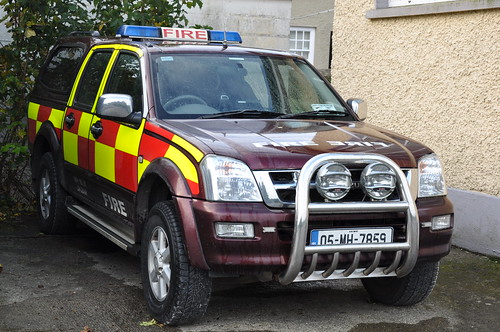 Meath Fire & Rescue Service 2005 Isuzu D-Max MFRS L4V 05MH7859