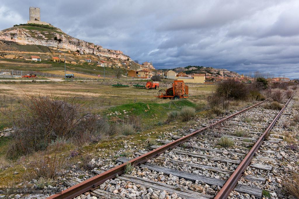 En vías de extinción. Ferrocarril Valladolid - Ariza