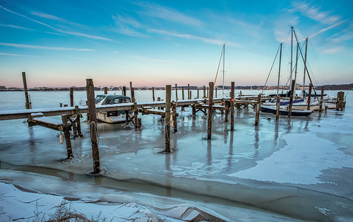 Frozen Pier by Geoff Livingston