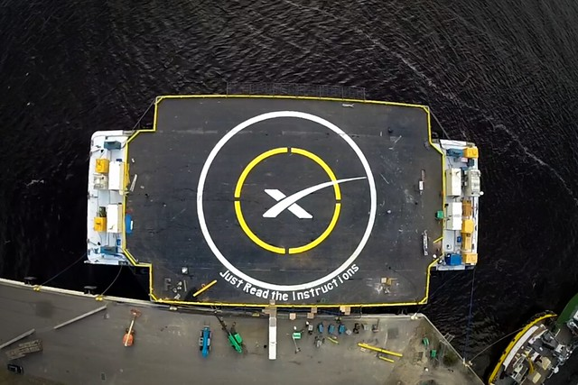 spacex, spaceport, drone, ship