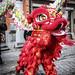 Draken en leeuwen paraderen door Antwerpse China Town
