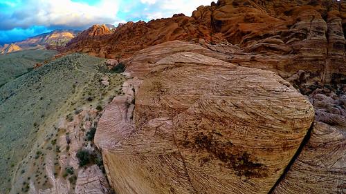 morning sunrise landscape photography video sand sandstone desert lasvegas nevada dune 4 conservatory canyon aerial mojave hero redrock petrified 27k gopro multirotor multicopter calico1