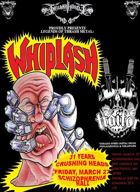 Whiplash at Schizophrenia Hall