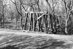 Abandoned Railroad Trestle over Jordan Creek & CR 3313, Cuney, Texas 1502131209abw