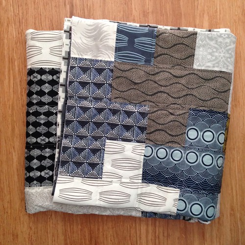 Modern Plus quilt for Siblings Together