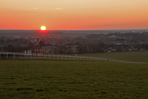 sunset sky evening dusk racing newmarket gallops image9100 100xthe2015edition 100x2015
