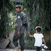 Afghan Police and Child by Al.T Photography