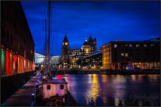 Albert Dock Evening