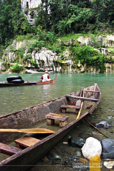 Balasyan Boat in Siitan River, Quirino