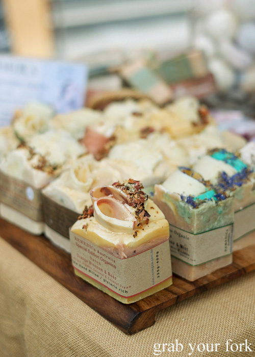 Organic soaps by Remedica at Brewery Yard Markets