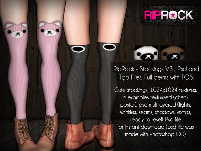 RipRock - Stockings V3 - POSTER