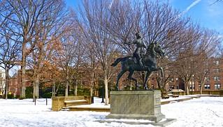 Malcolm X Park Snow Washington DC 52398