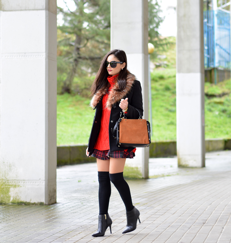 Zara_ootd_outfit_botines_tartan_choies_mango_abrigo_01
