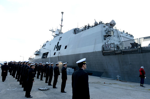 U.S. Navy Ships Strengthen Ties with Republic of Korea for Foal Eagle Exercises
