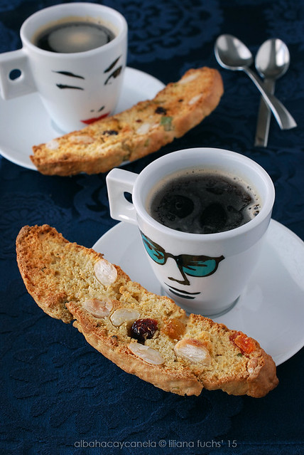 Fruity nutty biscotti